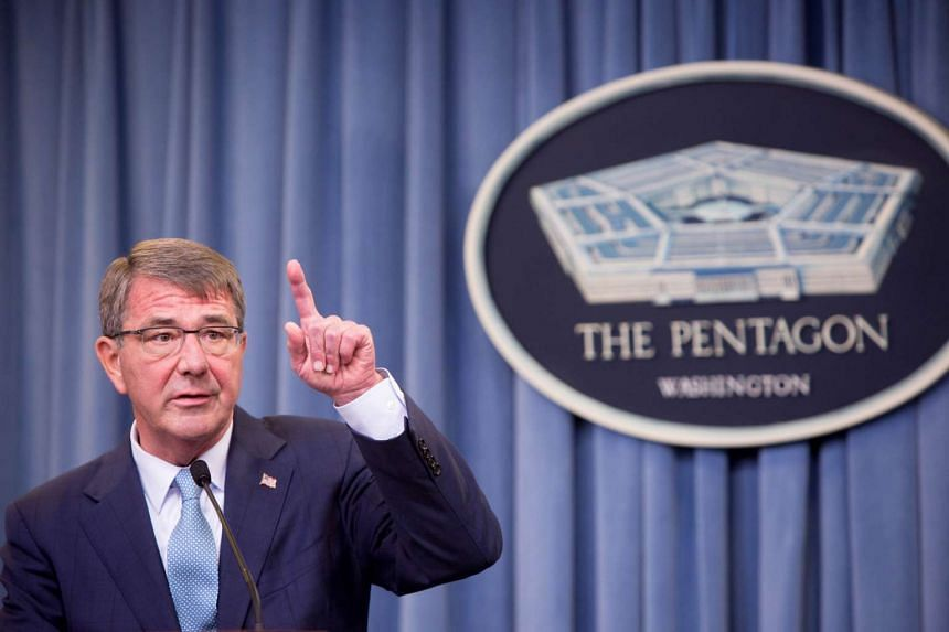 US Secretary of Defense Ash Carter speaks during a press conference on June 30, 2016 at the Pentagon in Arlington, Virginia.