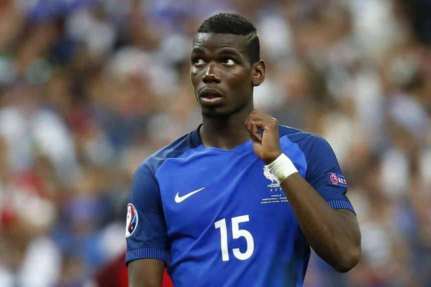 Paul Pogba's agent has denied a potential world record transfer sending the France star to Manchester United.