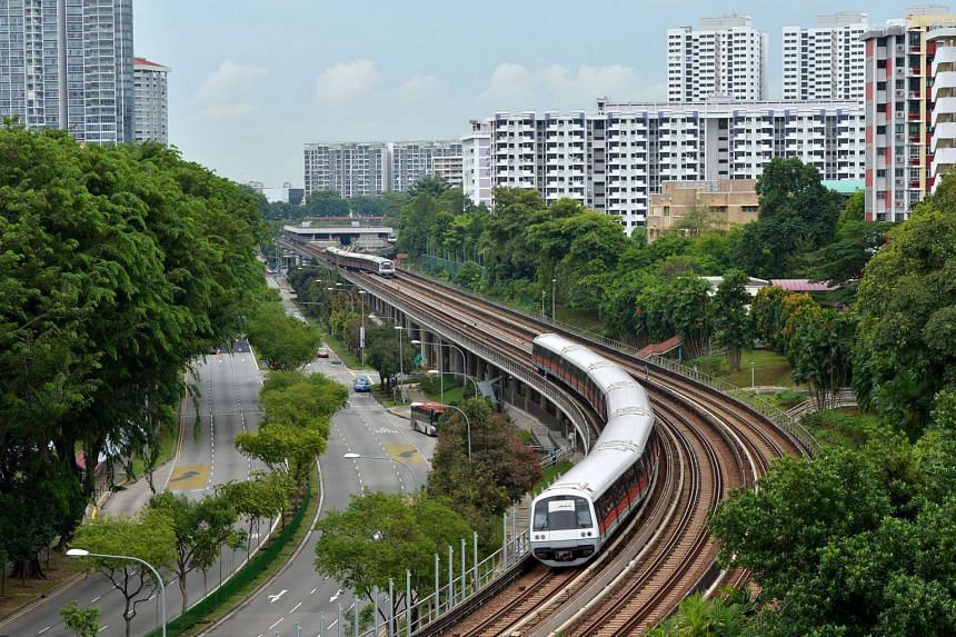 SMRT shares jumped yesterday on the counter's first day of trading.