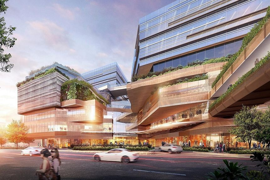 The old Funan DigitaLife Mall will make way for a mixed-use complex comprising two office towers, serviced residences and retail stores. The redevelopment will double the gross floor area of the current size to 887,000 sq ft.