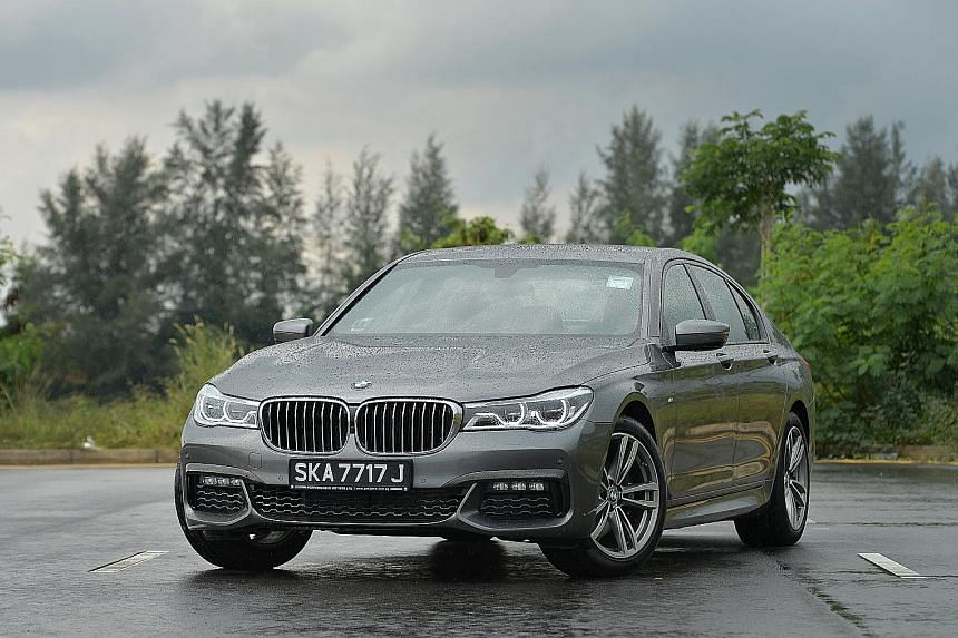 The BMW 730i offers 100 per cent handling and 100 per cent comfort, not a compromised mix commonly found in most cars.