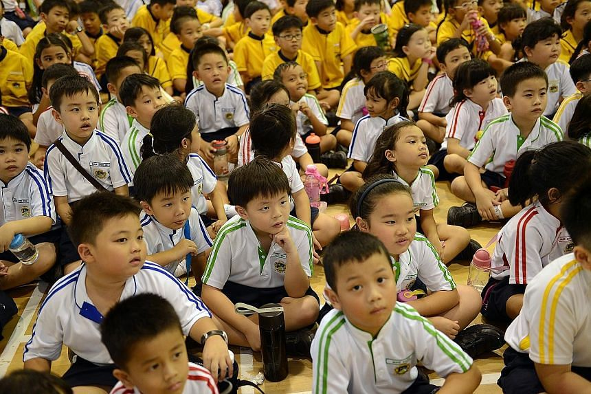Children entering Primary 1 are granted school admissions in different phases. The results of Phase 2C in this year's registration exercise will be announced on Aug 3. Boys and girls who do not fulfil all the criteria for this stage will have to wait