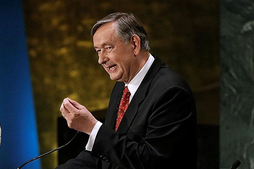 Mr Danilo Turk, the former president of Slovenia, got nearly as many positive votes as Dr Guterres but also two negative votes. Bulgarian diplomat Irina Bokova, who is the head of Unesco, is in the next level of front runners. Portugal's ex-PM Antoni
