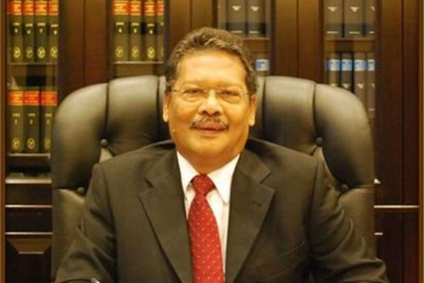 Malaysian Attorney-General Tan Sri Mohamed Apandi Ali (pictured) said Lim's latest comments were tantamount to an assault on his integrity as the public prosecutor.