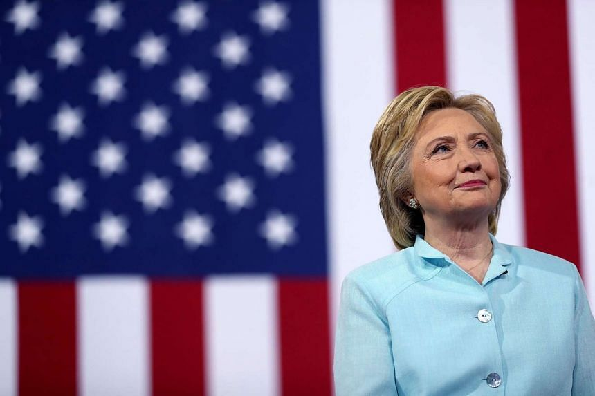 Democratic presidential candidate Hillary Clinton during a campaign rally at Florida International University Panther Arena on July 23, 2016 in Miami, Florida.