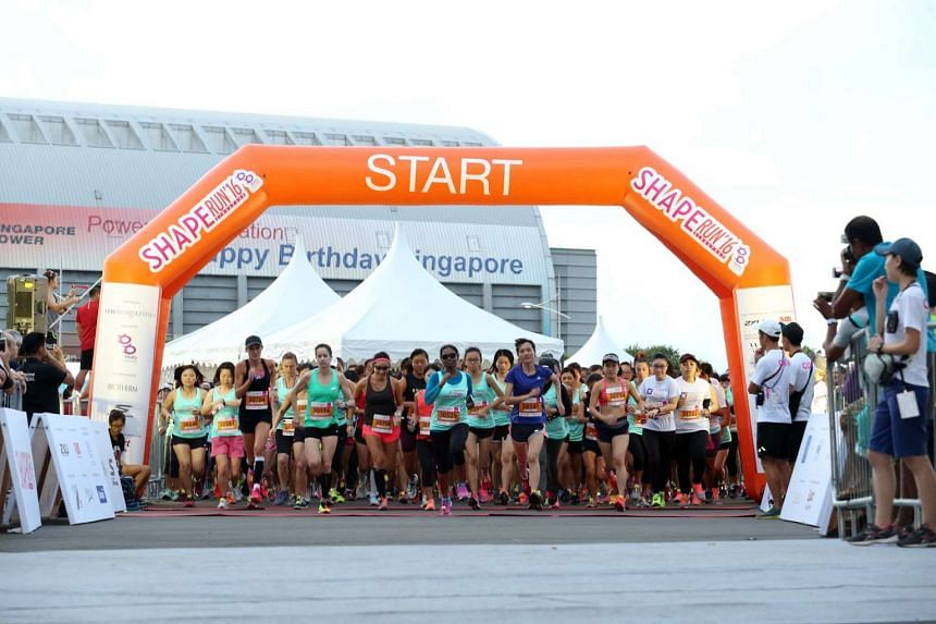 The 11th edition of the annual Shape Run was held at the Bayfront Event Space on July 24, 2015. It was attended by 9,500 runners.