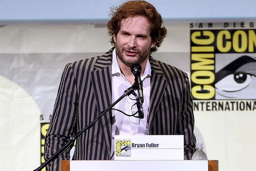 Writer and executive producer Bryan Fuller attends the Star Trek panel during Comic-Con International 2016 at San Diego Convention Center on July 23.