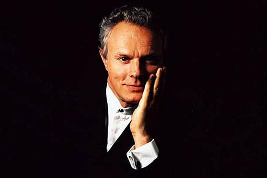 Conductor Yan Pascal Tortelier (above) and pianist Dimitri Alexeev were poised while playing on the edge.