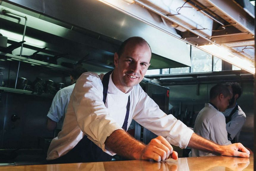 Chef Brent Savage says the menu of his new seafood-centric Cirrus restaurant will continue to evolve.