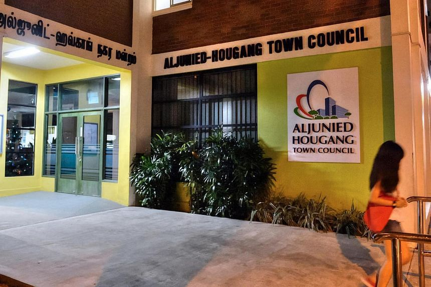 Aljunied-Hougang Town Council at 701 Hougang Avenue 2.