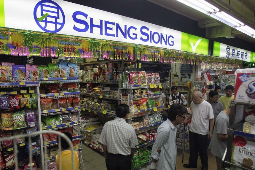 Supermarket chain Sheng Siong reported an 11.3 per cent rise in net profit for the quarter ended June 30.