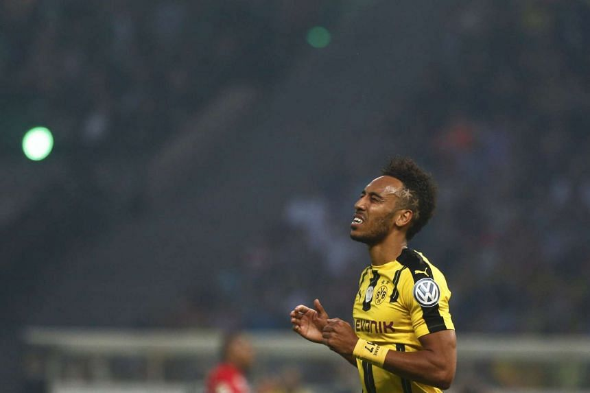 Borussia Dortmund have denied reports that Manchester City has made an offer for striker Pierre-Emerick Aubameyang.