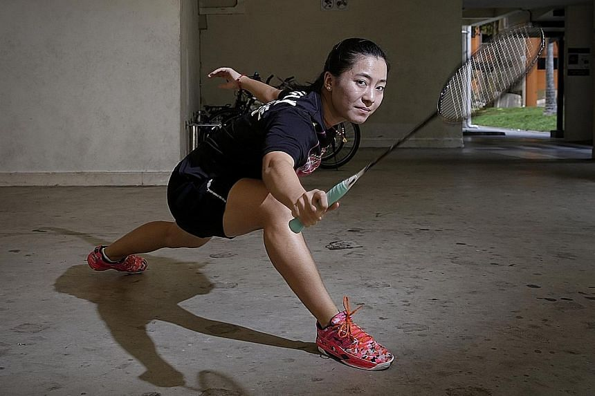World No. 30 Liang Xiaoyu is the only member of Singapore's 2014 Youth Olympic contingent at this year's Summer Games.