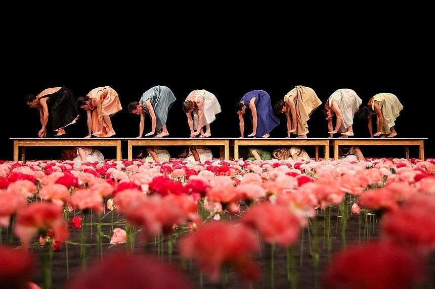 Nelken (Carnations) by the late renowned German dancer- choreographer Pina Bausch will be staged by her company, Tanztheater Wuppertal Pina Bausch, at Esplanade's da:ns festival in October.