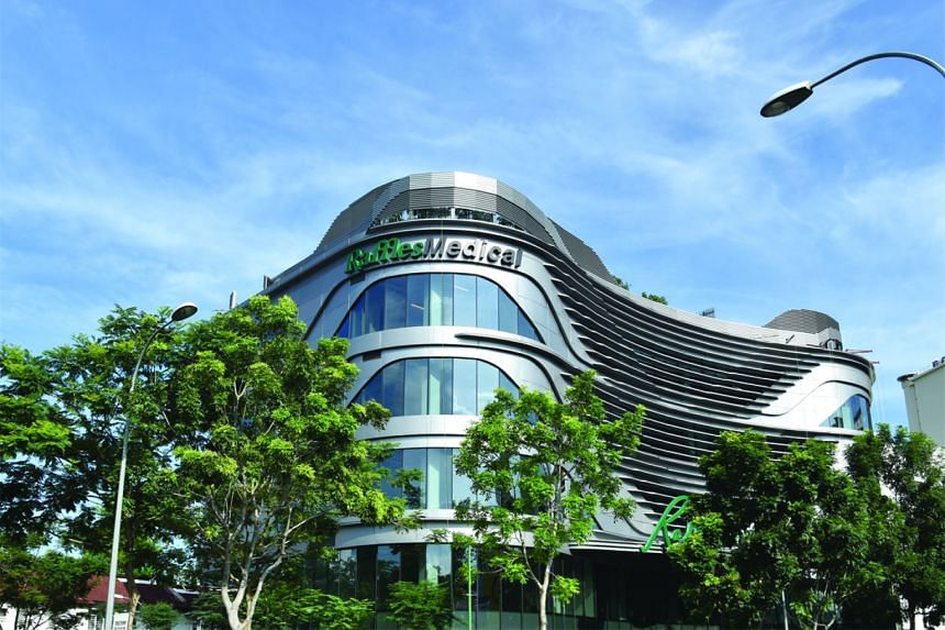 The group's first property venture, Raffles Holland V mall (left), opened last month.