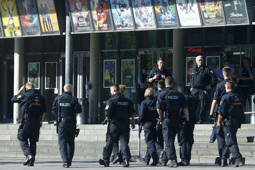 German police said shots were fired at a university clinic in Steglitz at around 1100 GMT on Tuesday (July 26).