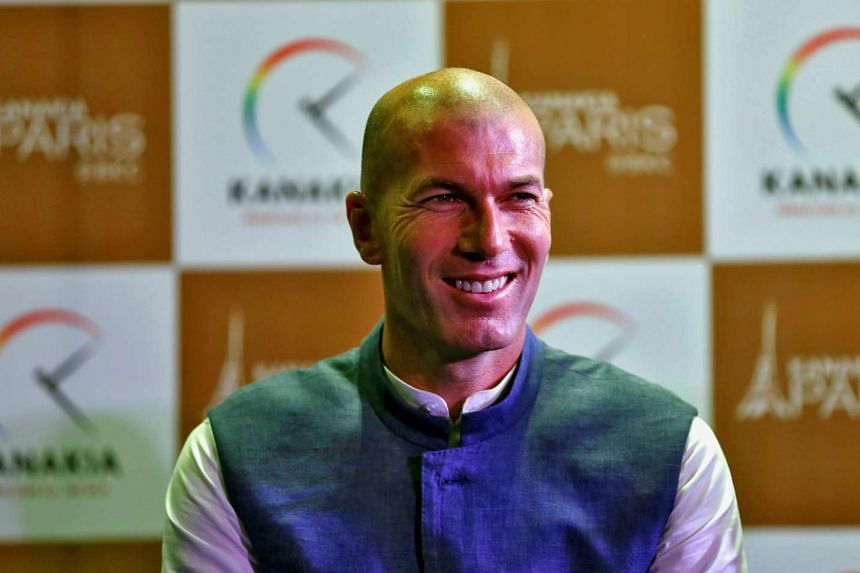 Real Madrid coach Zinedine Zidane (above) has confirmed that James Rodriguez will remain at the club.