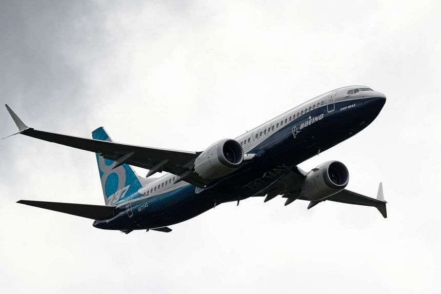 Boeing will deliver 25 B737 Max aircraft (pictured) to Malaysia Airlines from 2019.