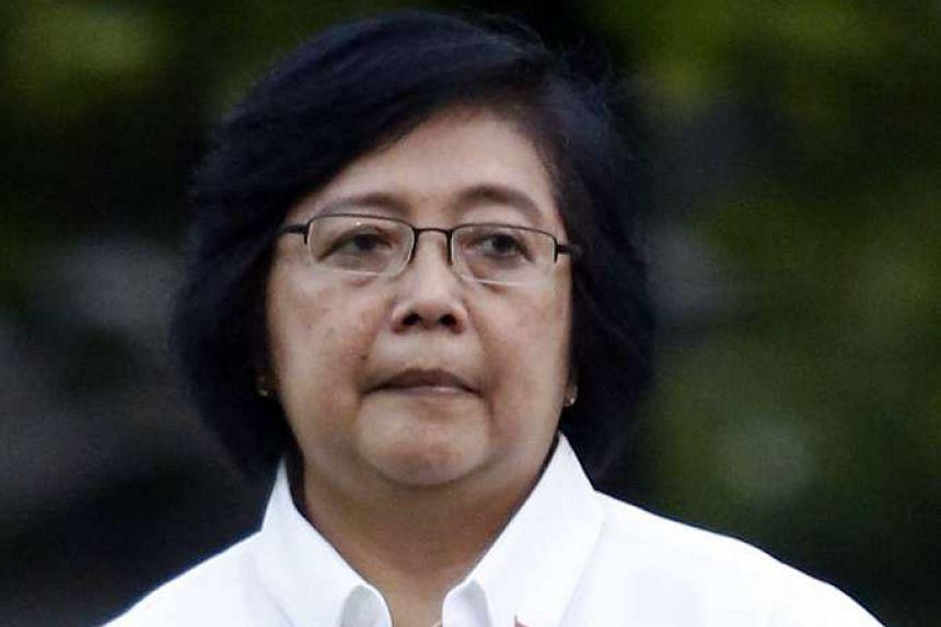 Indonesian Environment and Forestry Minister. Siti Nurbaya Bakar.
