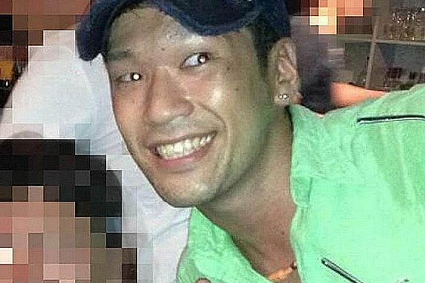 Above: Uematsu, who has been charged with murder and trespass, worked at the Tsukui Yamayuri Garden facility for more than three years until he quit in February. The 26-year-old turned himself in to the police after yesterday morning's knife attack,