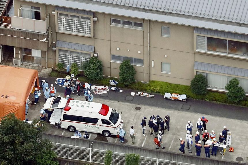 """A man who reportedly said people with disabilities should be """"euthanised"""" went on a rampage in a care home yesterday, killing 19 people and injuring over 20 others in the worst mass killing in Japan's post-war history. Shortly after 2am local time, S"""