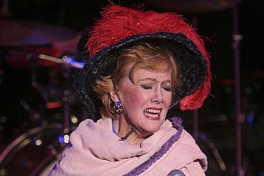 Marni Nixon performing Wouldn't It Be Loverly? from the movie My Fair Lady during a Broadway festival event in 2008.