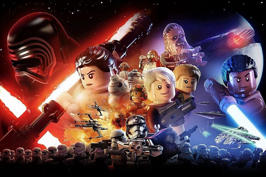 Lego Star Wars: The Force Awakens is meant for a wide age group.