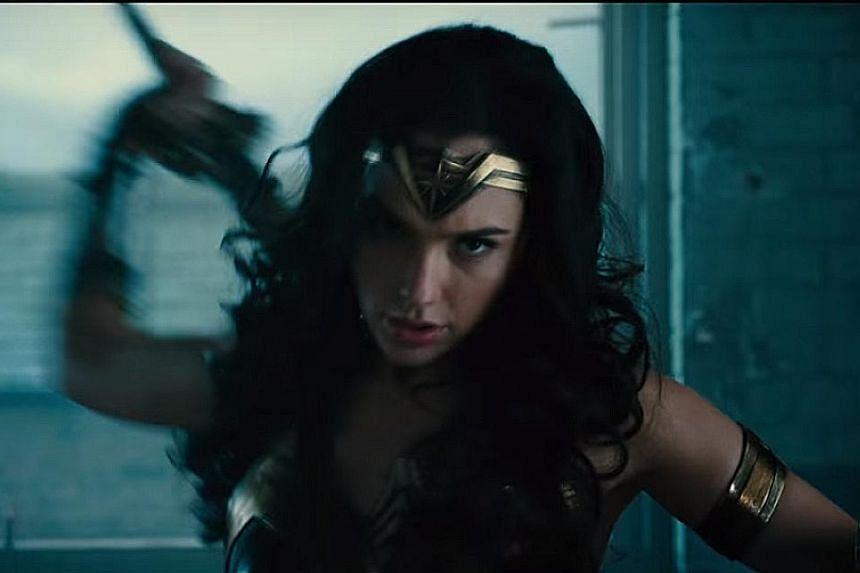 Gal Gadot's Wonder Woman.