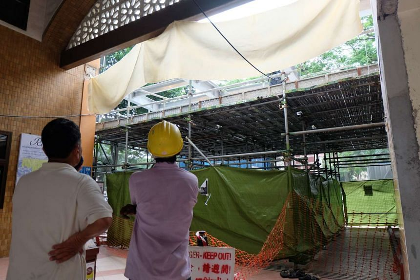 Al-Muttaqin Mosque in Ang Mo Kio is currently undergoing a $3.5 million upgrading project. The mosque is raising funds through a charity golf event on Aug 31, 2016.