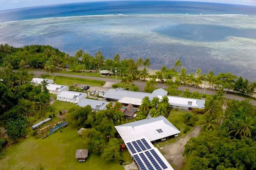 The Kosrae Nautilus resort is being given away as a raffle prize.