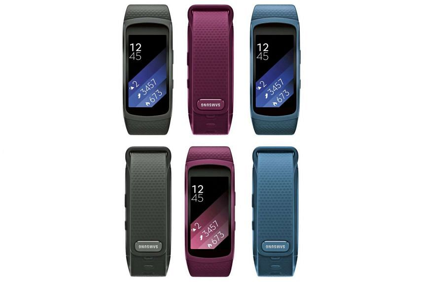 The fitness tracker looks similar to its 2014 predecessor, though it is sleeker.