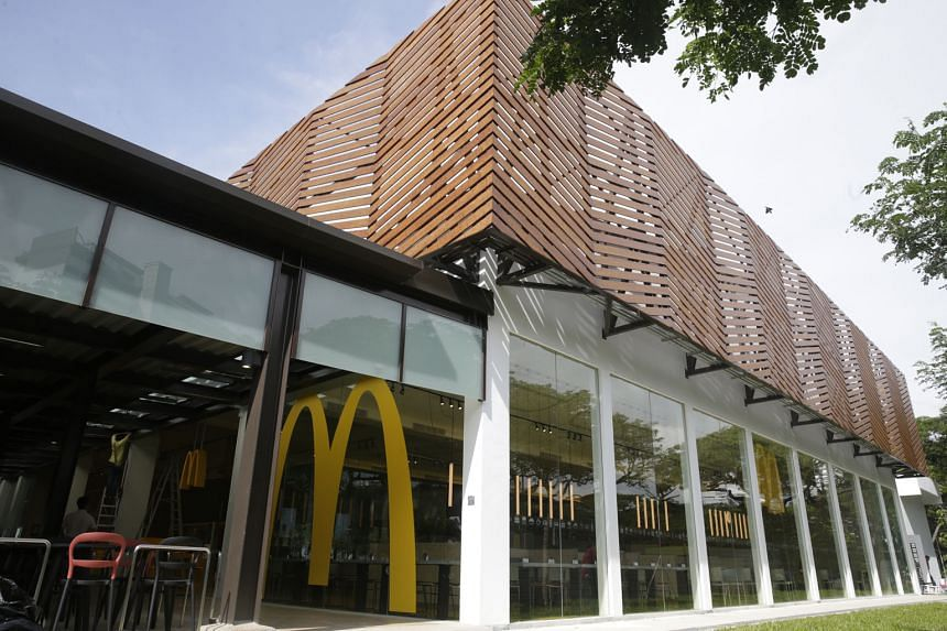 McDonald's East Coast Parkway outlet is one of its newest. The company's market share was 41.6 per cent last year, ahead of rival Yum Brands.