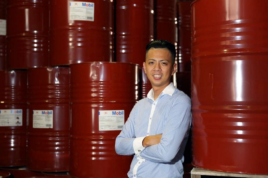 Max Wong left the certainty of a sales job in solar film for the high pressure life of a lubricants trader at family firm Kims.