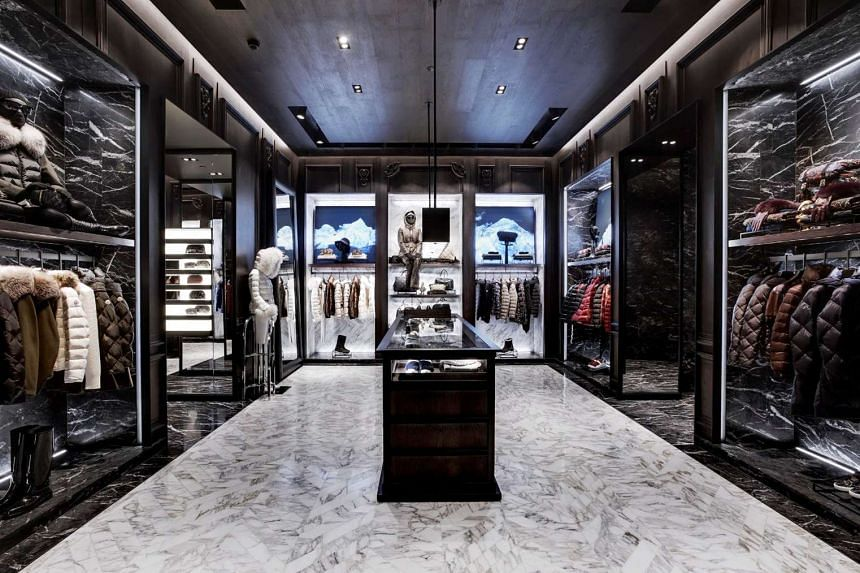 Moncler boutique in Ion Orchard.
