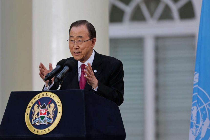 United Nations Secretary-General Ban Ki Moon has appealed to Indonesia's government to halt the imminent execution of drug convicts.
