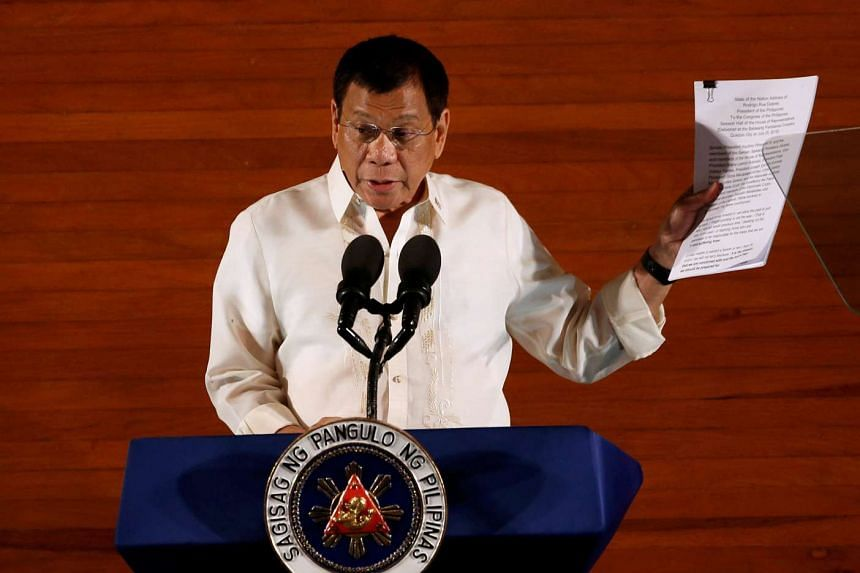 Philippine President Rodrigo Duterte has said that China is harbouring major drug lords who smuggle narcotics into the Philippines.
