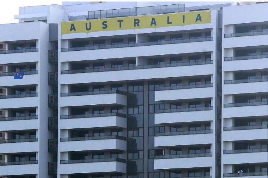 General view of rooms for Australia at Olympic Village in Rio de Janeiro, Brazil on July 26.