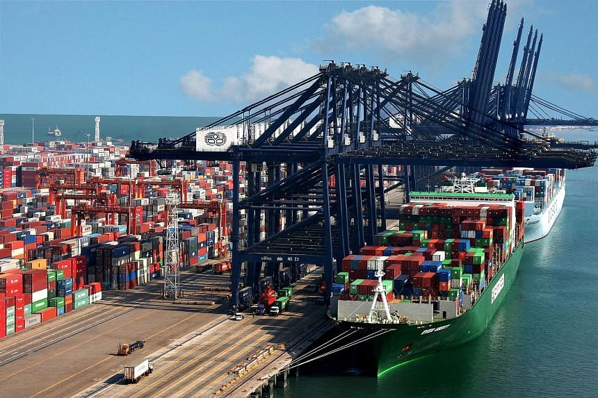 HPHT's container throughput in Yantian International Container Terminals (above) in China shrank 1 per cent for the three months to June 30 year-on-year.