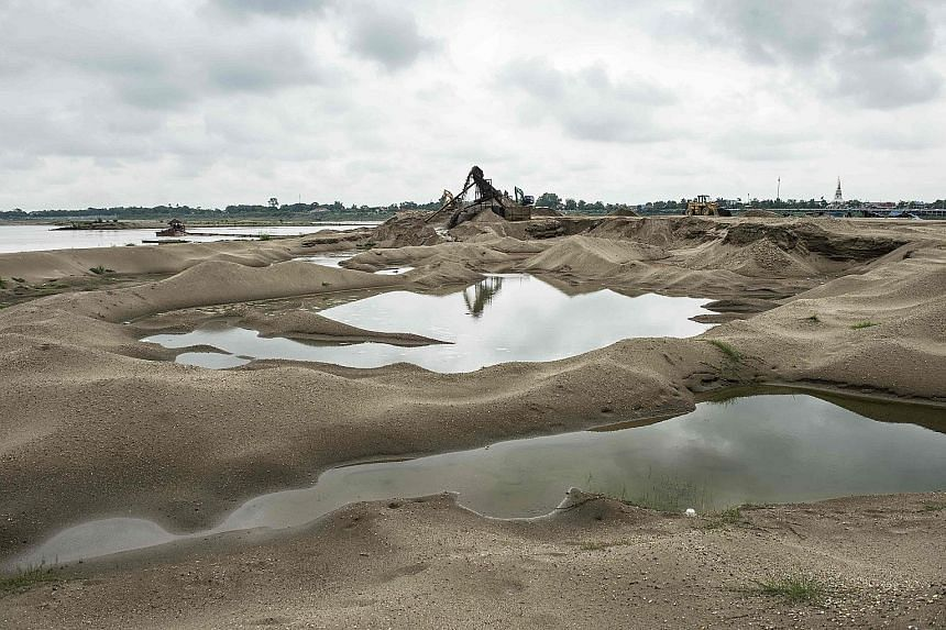 The Mekong naturally produces around 20 million tonnes of sediment a year, but is now seeing twice that amount extracted annually. Without strict rules, the dredging will trigger erosion patterns that could take decades to reverse.