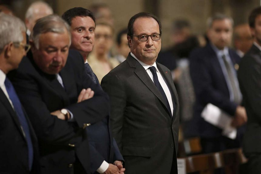 French President Francois Hollande confirmed that a National Guard would be formed from existing reserve forces to better protect citizens facing terror attacks.
