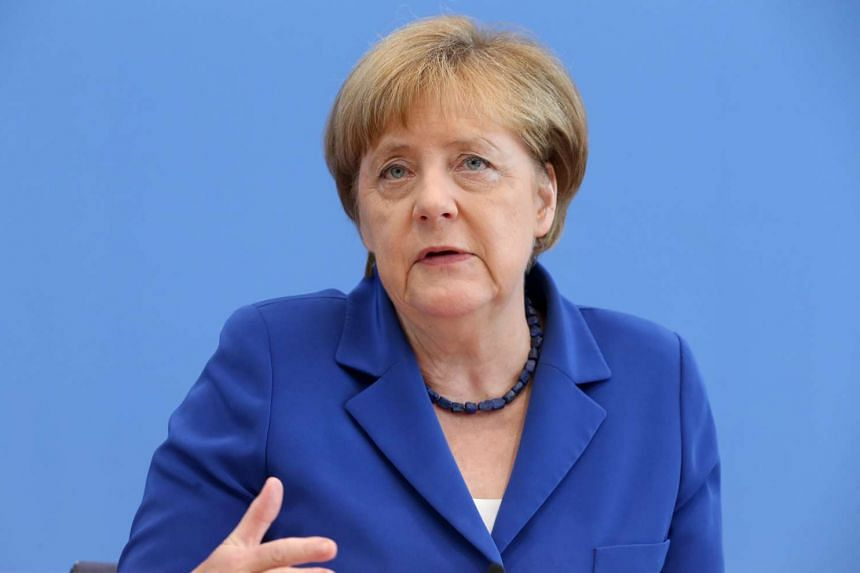 German Chancellor Angela Merkel has maintained her views on the country's refugee policy, despite a spate of recent attacks.