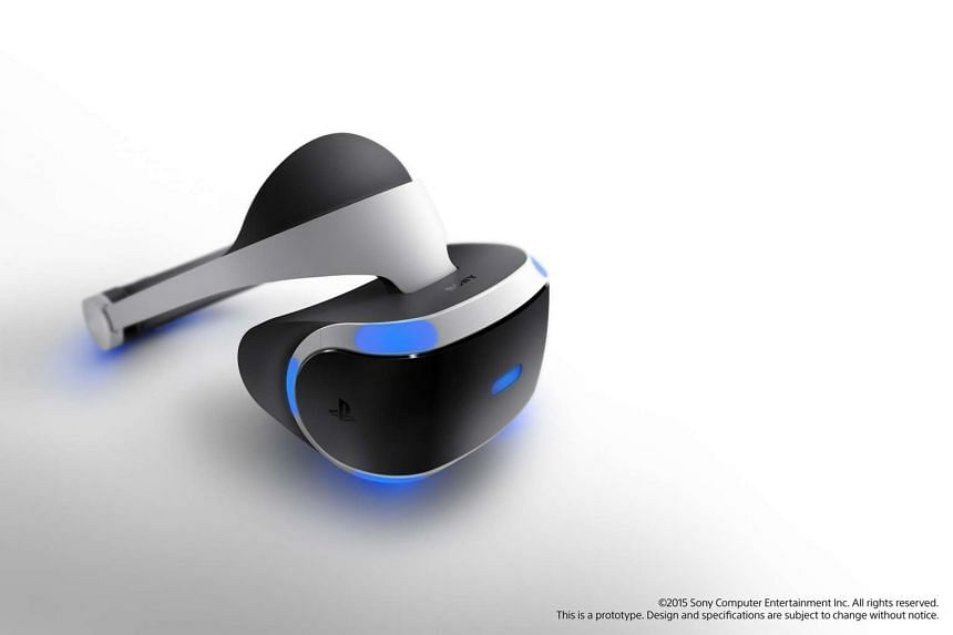 Sony's new PlayStation VR headset.