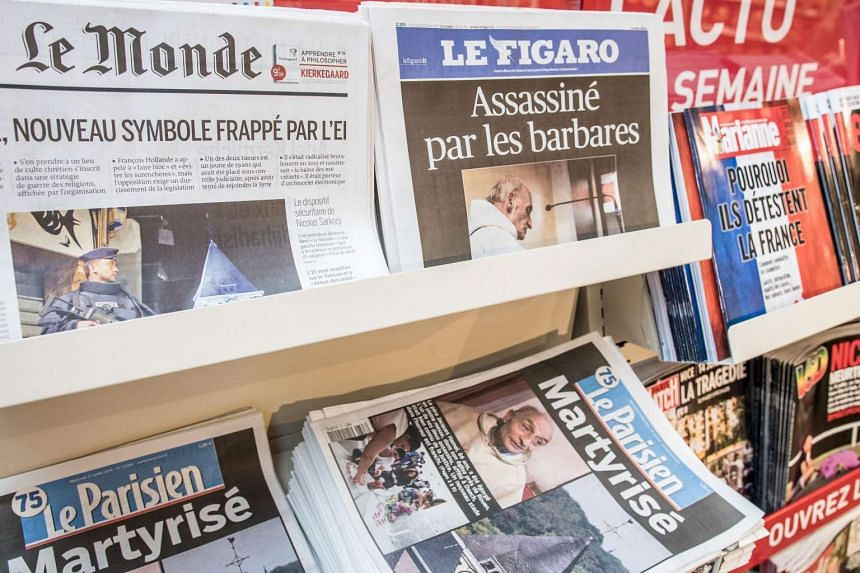 "Several major media outlets in France said Wednesday they would no longer use photographs of killers responsible for terror attacks to avoid giving them ""posthumous glorification""."