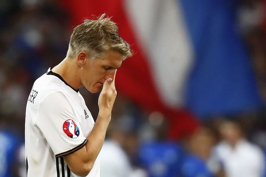 Germany captain Bastian Schweinsteiger has announced his retirement from international duty with immediate effect.