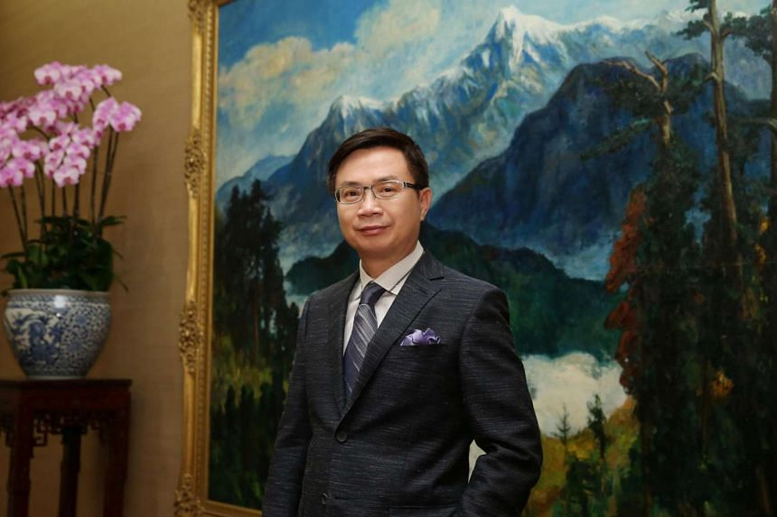 Mr James Huang, who is in charge of Taiwan's New Southbound Policy.
