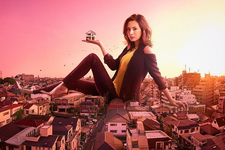 Your Home Is My Business! starring Keiko Kitagawa (left) is one of three Nippon TV's current season of primetime dramas to be shown.
