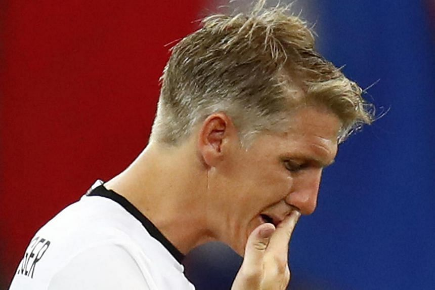 Bastian Schweinsteiger during the Germany vs France Euro 2016 semi-final in Stade Velodrome, Marseille, France on July 7.