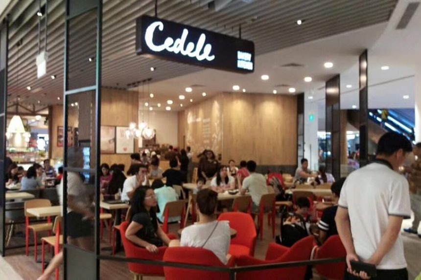 The Cedele outlet at Waterway Point.