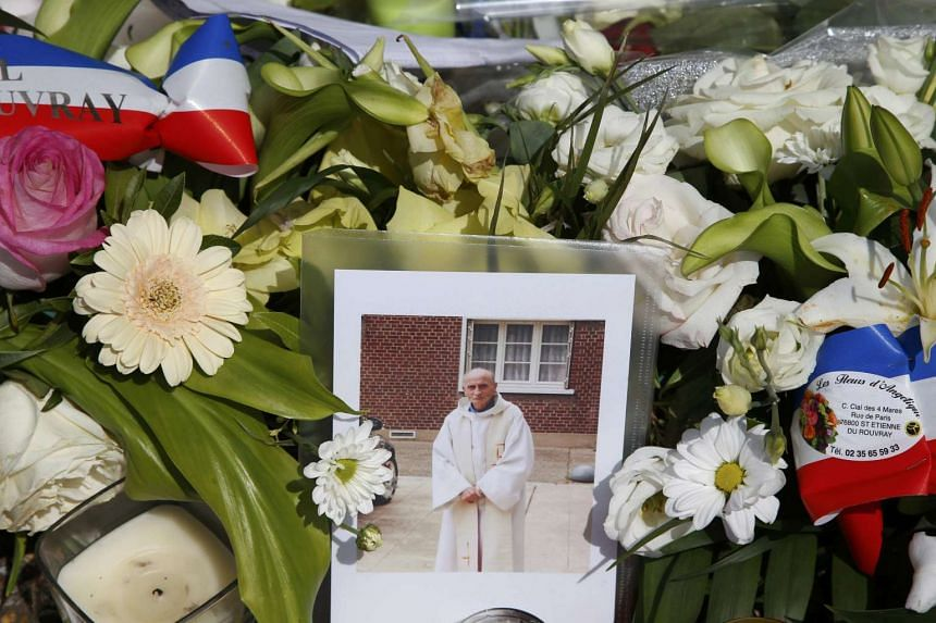 Father Jacques Hamel (above) was killed in an attack carried out by assailants linked to ISIS.