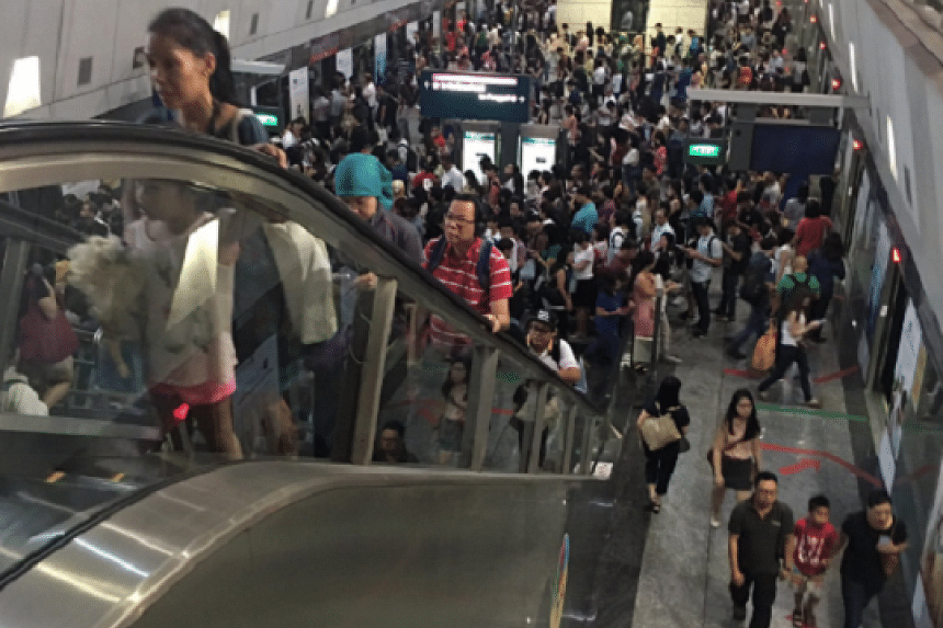 Congestion in the NEL on July 29.
